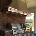 custom architectural fabrication grill hood